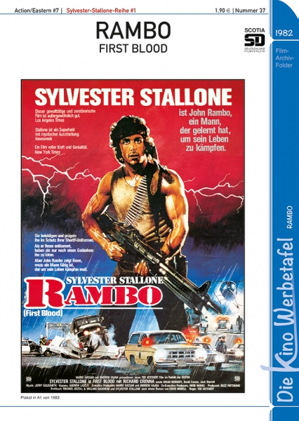 Die Kinowerbetafel 37 - Rambo (First Blood)